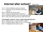 internet after school nso 2005