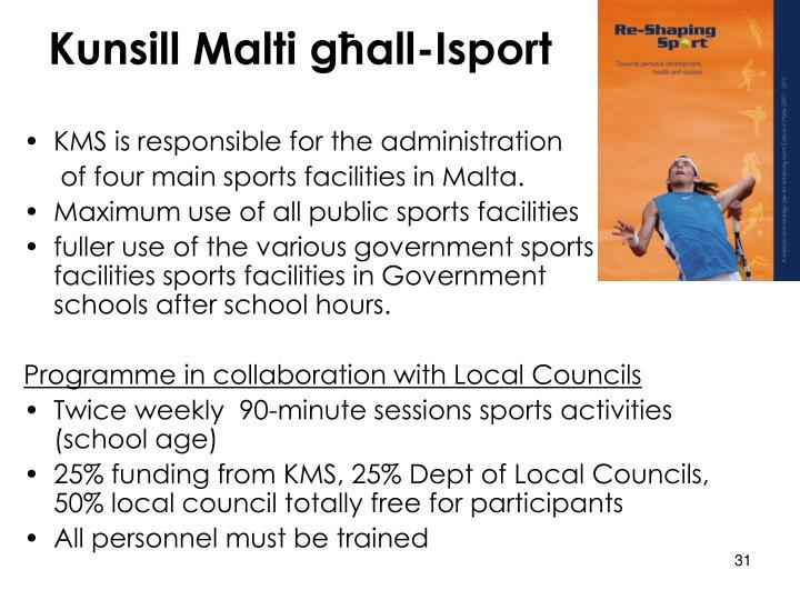 Kunsill Malti għall-Isport