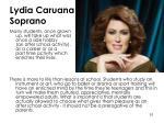 lydia caruana soprano