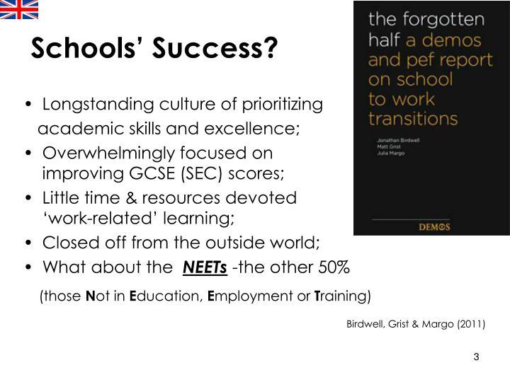 Schools' Success?