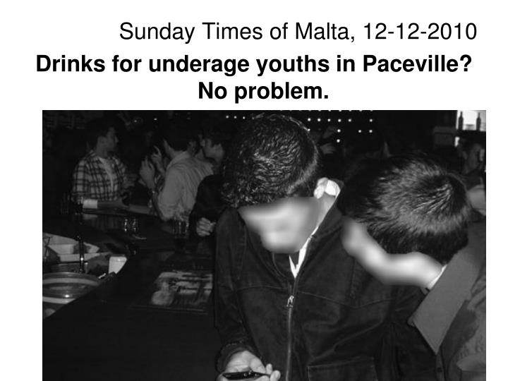 Sunday Times of Malta, 12-12-2010