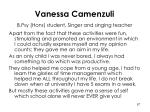 vanessa camenzuli b psy hons student singer and singing teacher