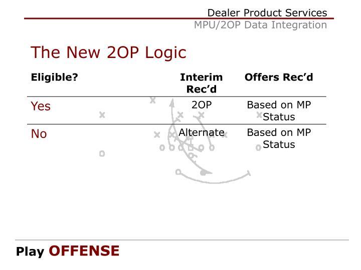The New 2OP Logic