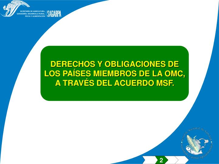 DERECHOS Y OBLIGACIONES DE