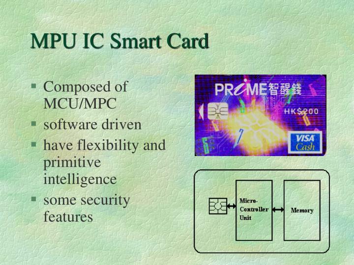 MPU IC Smart Card