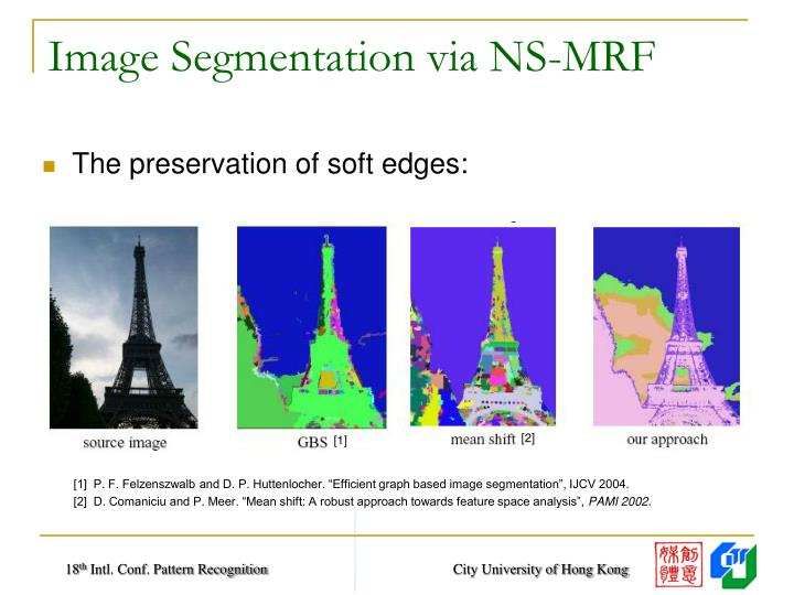 Image Segmentation via NS-MRF