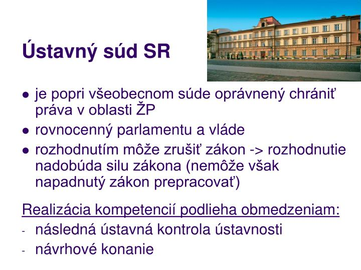 Ústavný súd SR