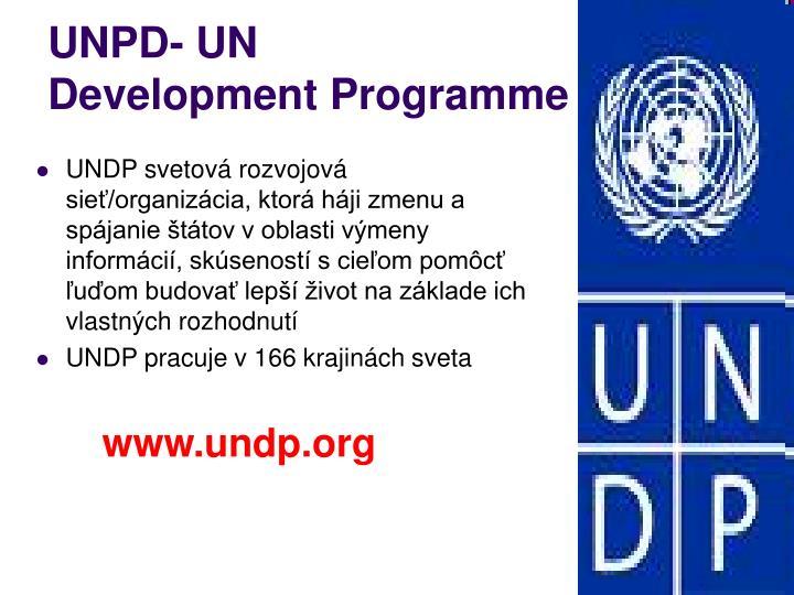 UNPD- UN