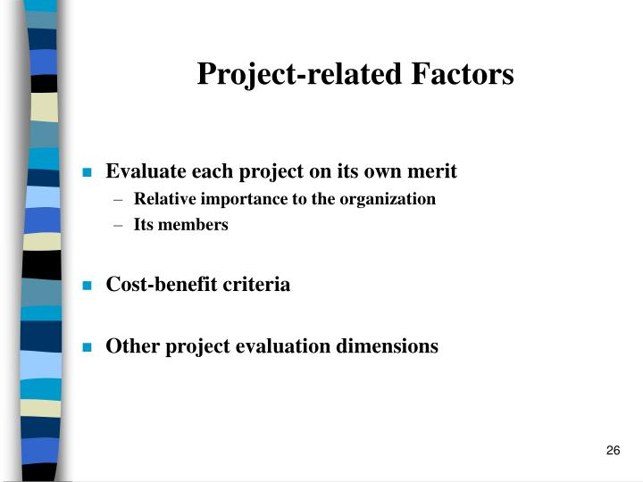 Project-related Factors