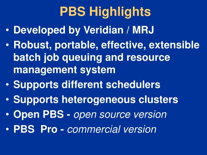 PBS Highlights