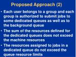 proposed approach 2