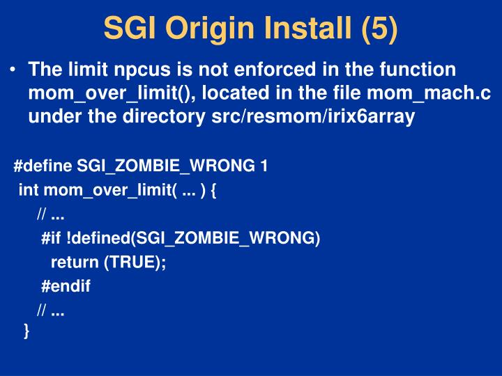 SGI Origin Install (5)