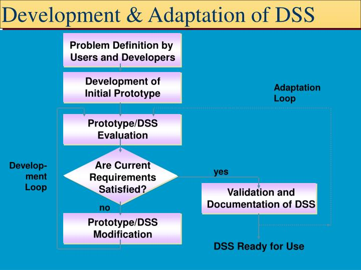 Development & Adaptation of DSS