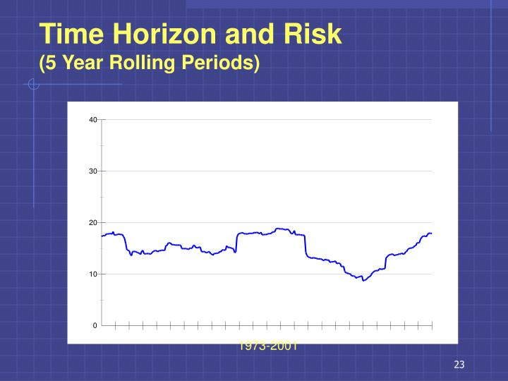 Time Horizon and Risk