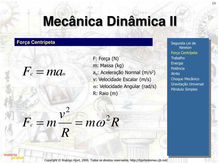 Mecânica Dinâmica II