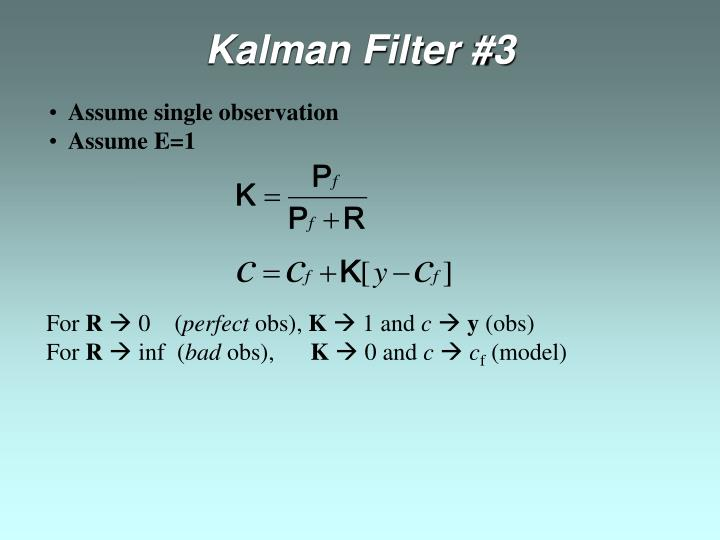 Kalman Filter #3