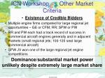 icn workshop other market criteria3