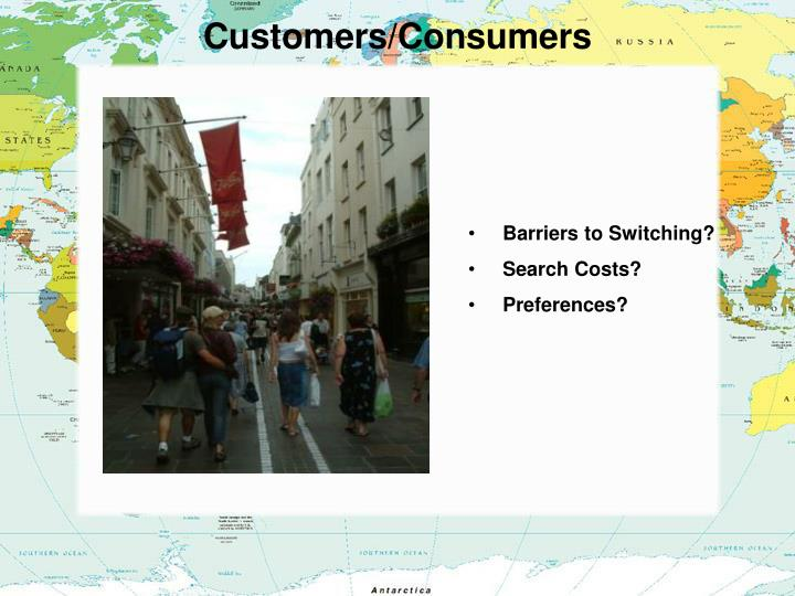 Customers/Consumers