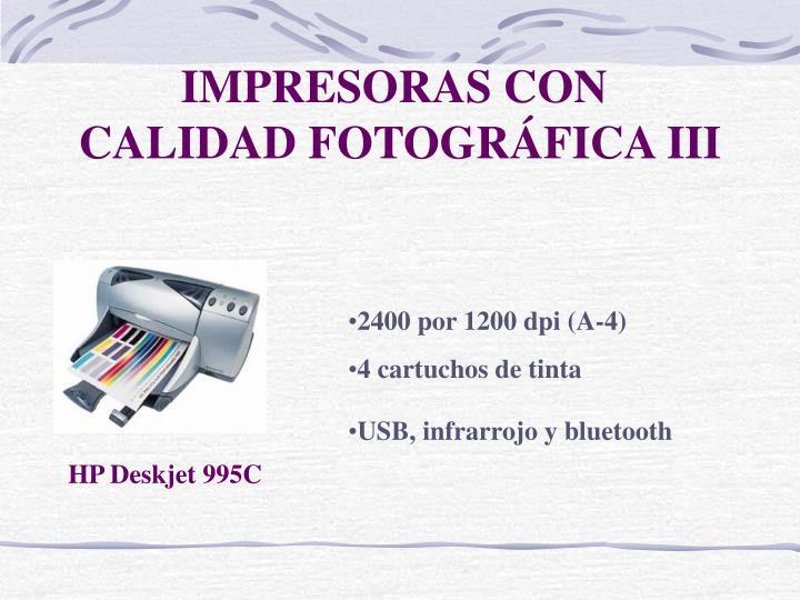 IMPRESORAS CON