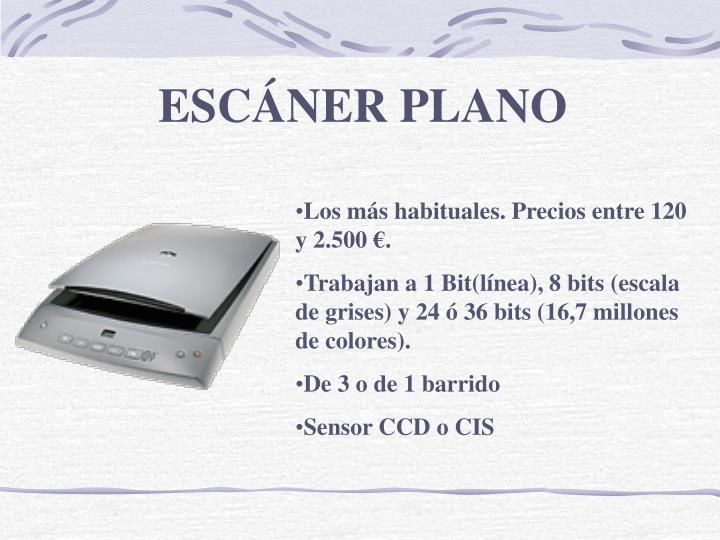 ESCÁNER PLANO