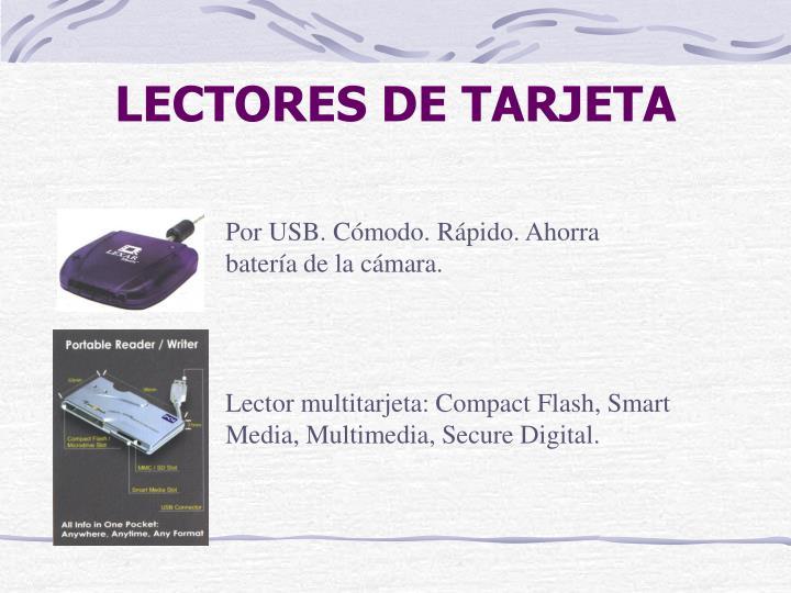 LECTORES DE TARJETA