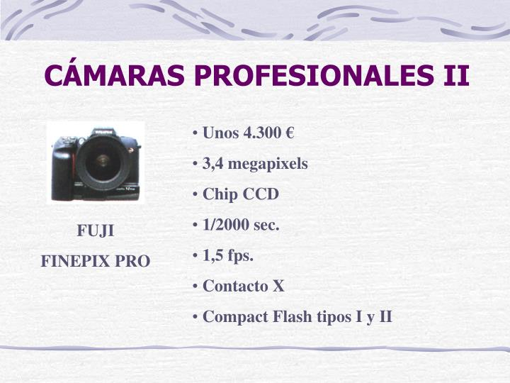 CÁMARAS PROFESIONALES II