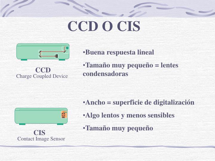 CCD O CIS