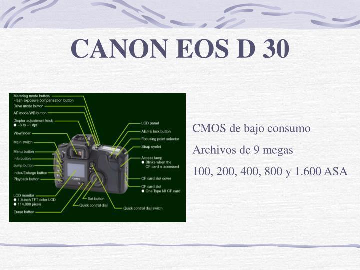 CANON EOS D 30