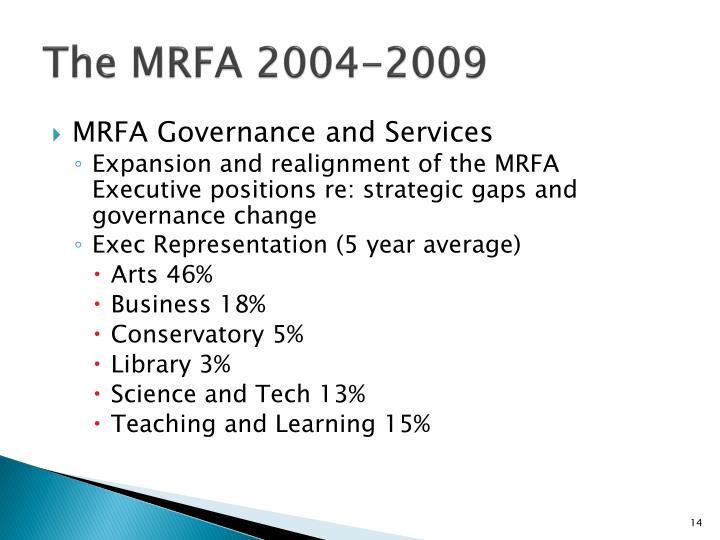 The MRFA 2004-2009