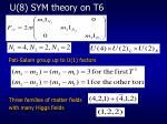 u 8 sym theory on t6