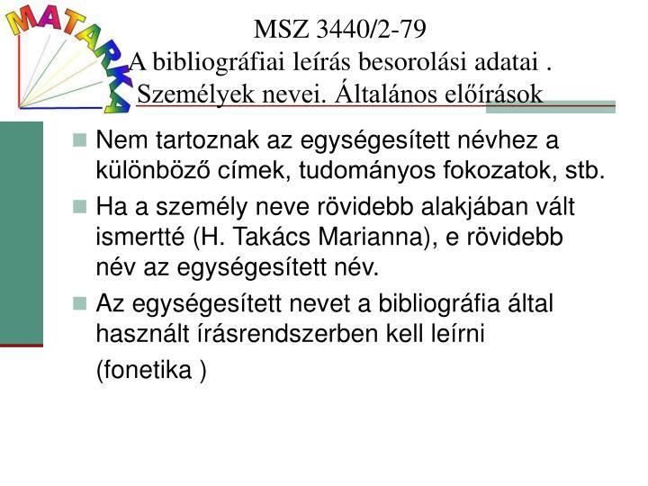 MSZ 3440/2-79