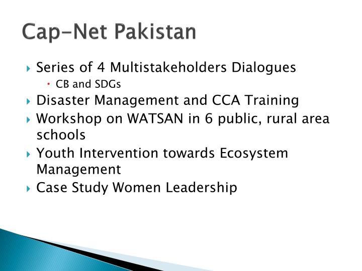Cap-Net Pakistan