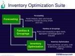 inventory optimization suite