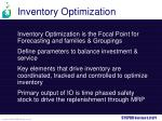 inventory optimization1
