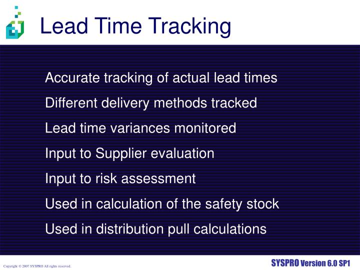 Lead Time Tracking