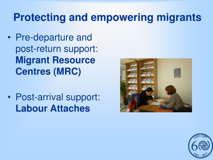 Protecting and empowering migrants