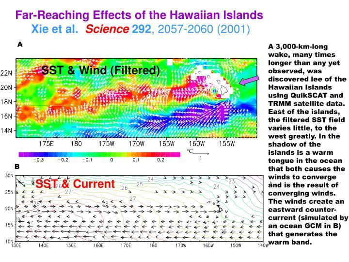 Far-Reaching Effects of the Hawaiian Islands