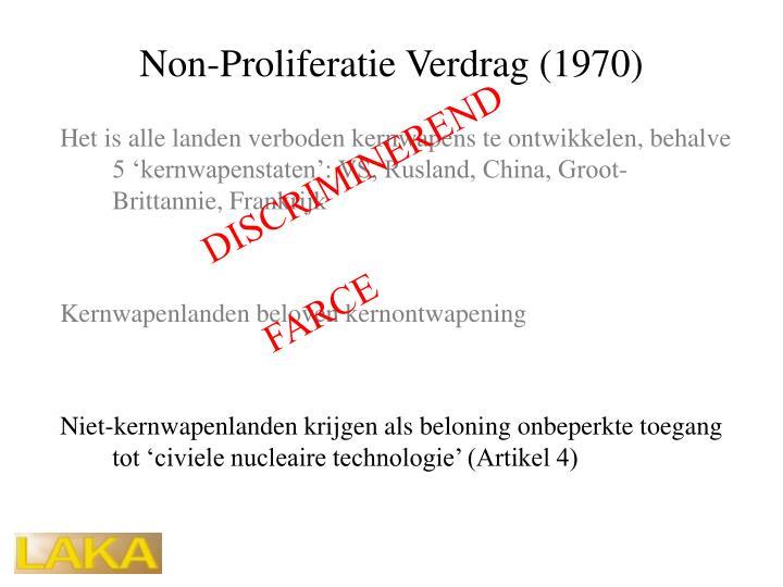 Non-Proliferatie Verdrag (1970)