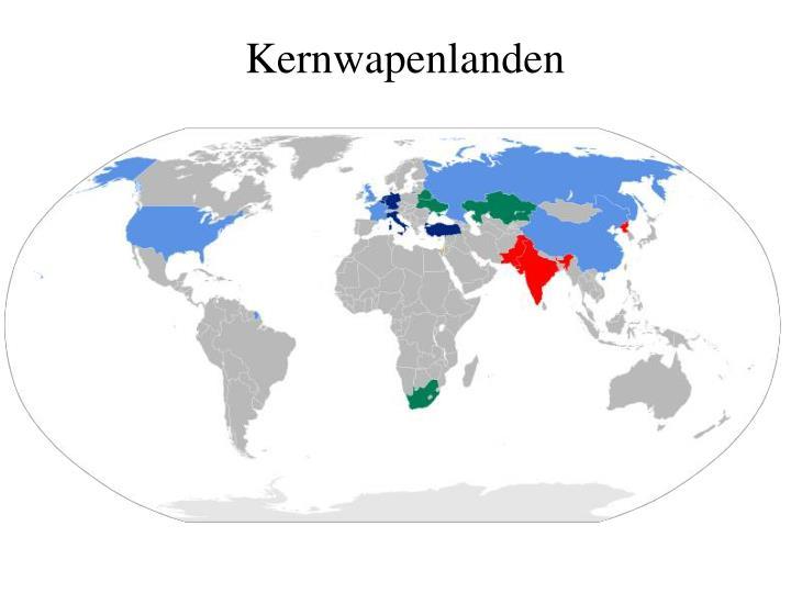 Kernwapenlanden