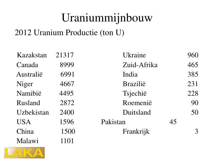 Uraniummijnbouw