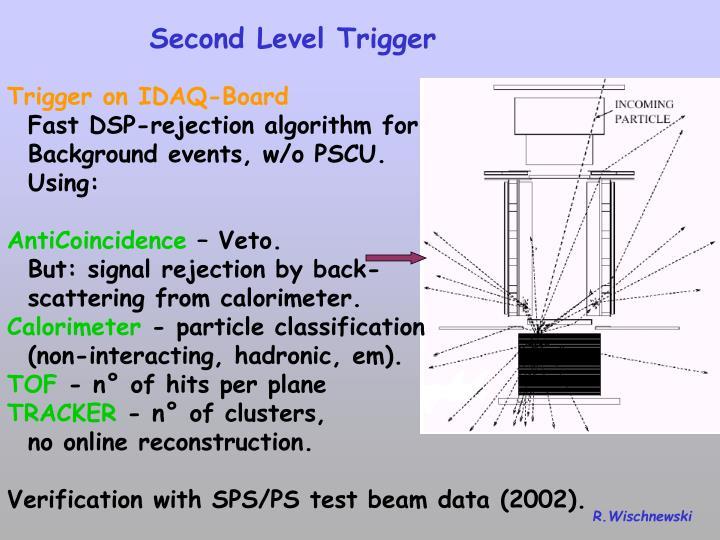 Second Level Trigger