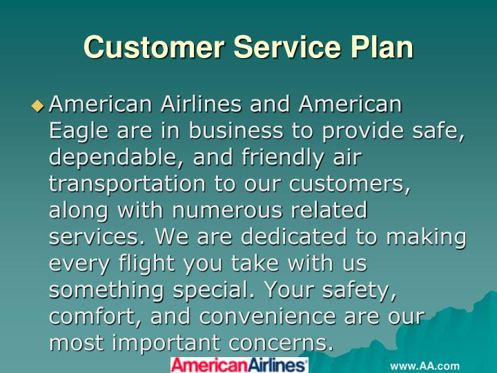 Customer Service Plan