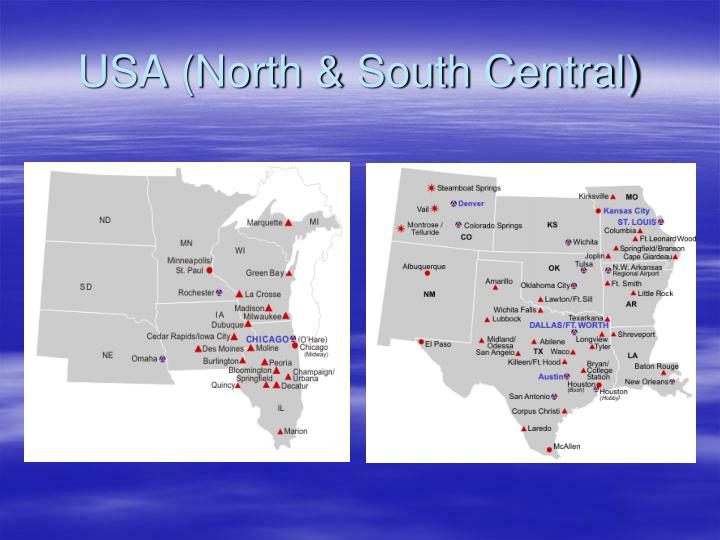 USA (North & South Central)