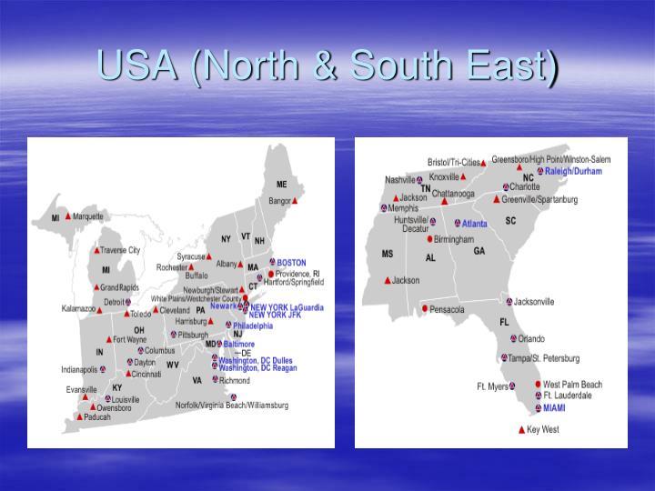 USA (North & South East)