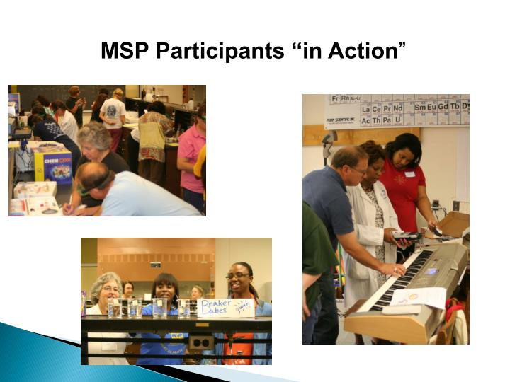 """MSP Participants """"in Action"""