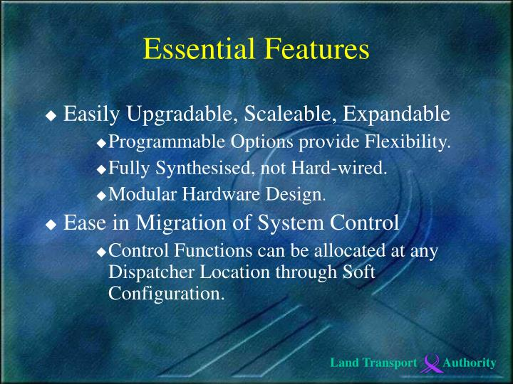 Easily Upgradable, Scaleable, Expandable