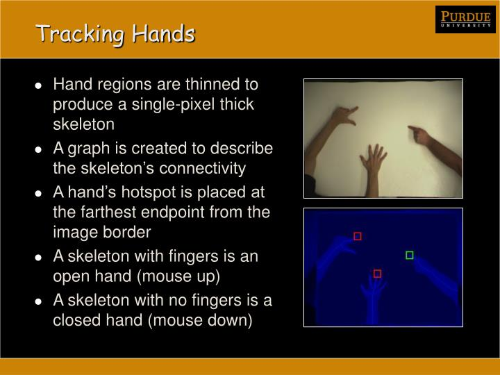 Tracking Hands