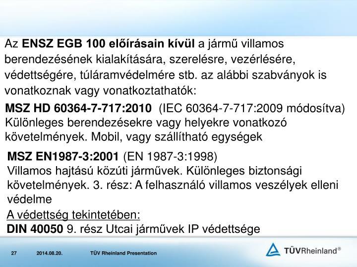 MSZ HD 60364-7-717:2010