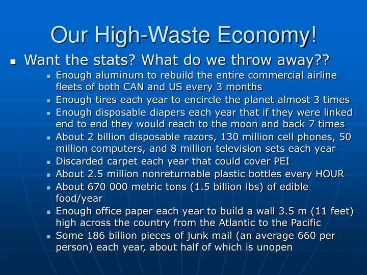 Our High-Waste Economy!
