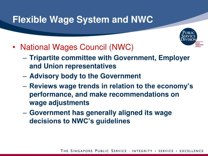 Flexible Wage System and NWC